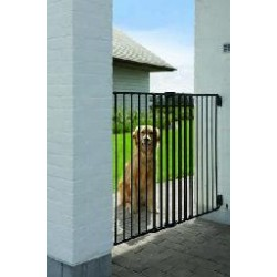 DOG BARRIER  gate outdoor 84-154x95cm
