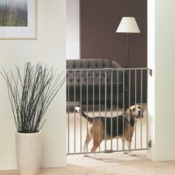 DOG BARRIER gate indoor 62-105x95alto