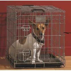DOG RESIDENCE GALVANIZADO 76X53X61
