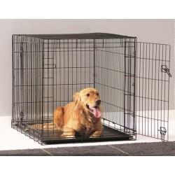 DOG COTTAGE 118CM NEGRO.Jaula perros.