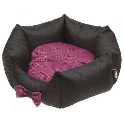 COMFY CAMA LOLA negro / rosa 45