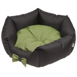 CAMA LOLA negro / verde 50X20CM