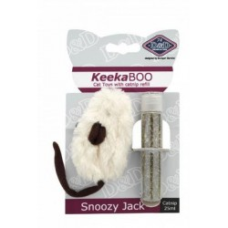 JUGUETE GATO keekaboo Snozy+ catnip