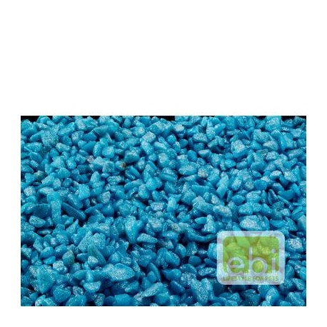 GRAVA GLAMOUR STONE 6-9mm azul 2kg