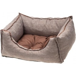 COMFY SOFA EMMA CAFE/CHOCOLATE 60X50X18L