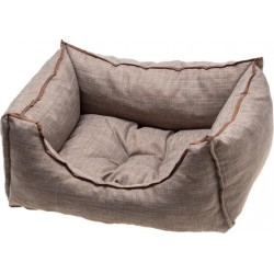 COMFY SOFA EMMA CAFE/CHOCOLATE70X60X18XL