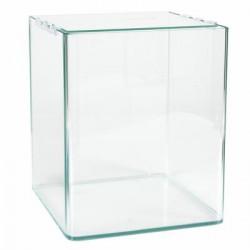 Acuario cubo frontal curvo 20X20X25cm Q1